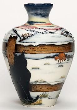 Moorcroft Pottery - Who Goes There